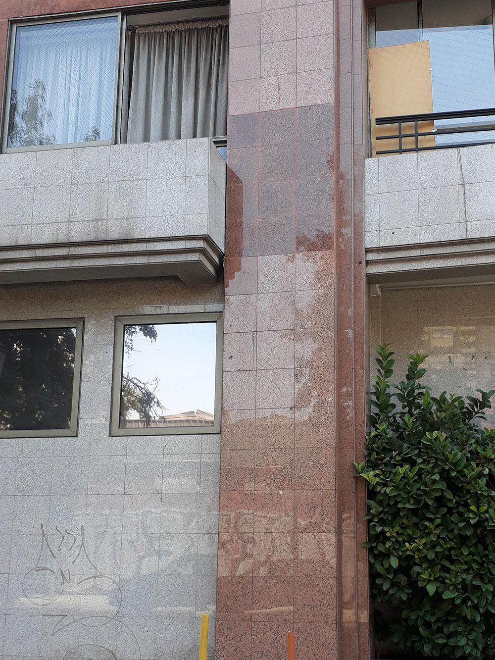 Reparaciones de fachada de edificio Carmen